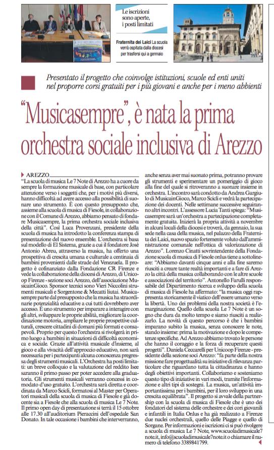Corriere Arezzo 11.10